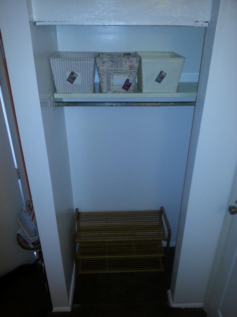 Front closet redo