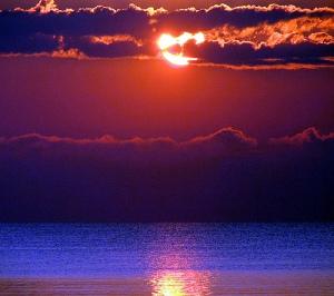 Lake Erie at Sunrise