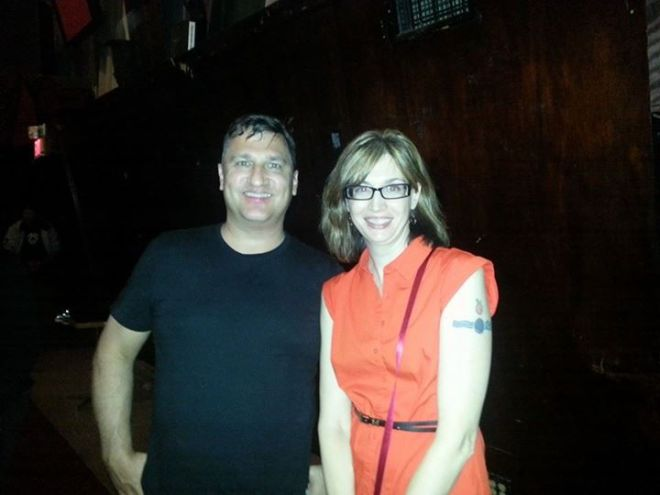 The author and Greg Dulli