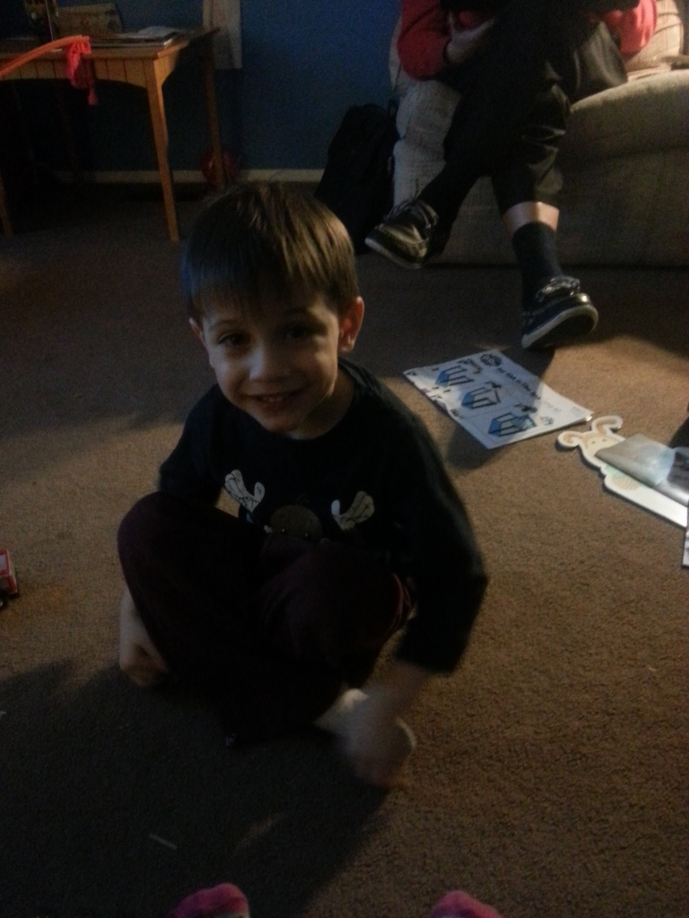 The 4-year-old