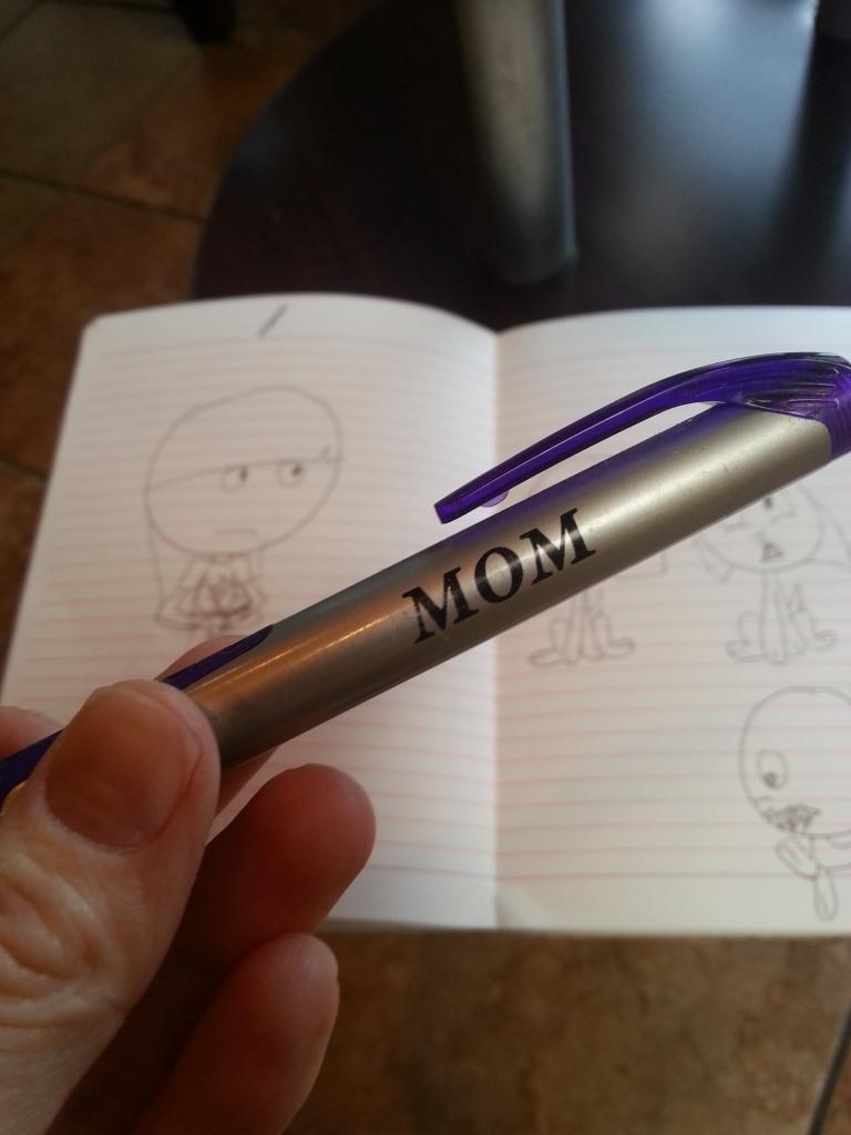 Mom pen
