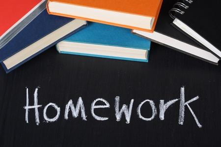 Pile of homework